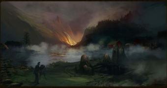 Draugen, um jogo de terror baseado na mitologia nórdica