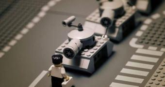 Fotos clássicas recriadas em Lego