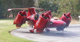 Tava demorando: Peter Moller adere ao crowfunding para bancar seu Skycar