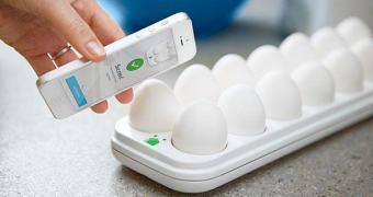 A internet das coisas (inúteis): Egg Minder