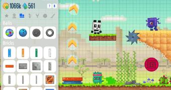 Crie jogos de plataforma no iPad com o Createrria