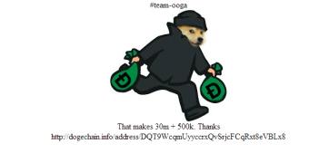 """Dogecoin, """"moeda"""" alternativa ao Bitcoin e — hackeada."""