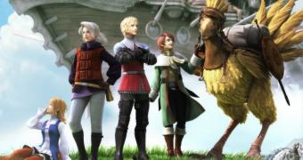 Remake 3D de Final Fantasy III desembarca no Windows Phone