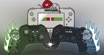 Acredite, a Microsoft elogiou o PlayStation 4 e a Nintendo