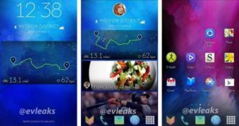 Vazam imagens de nova interface gráfica dos smartphones da Samsung