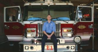 Um app de Google Glass para combater incêndios. Programado por um bombeiro