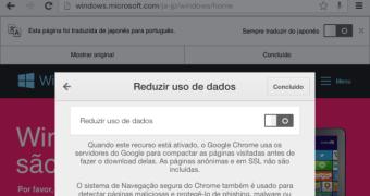 Chrome para iOS ganha integração com Tradutor e redução no consumo de dados