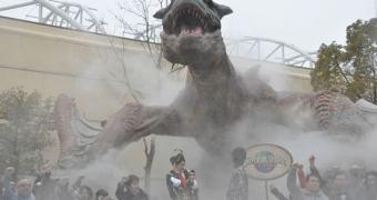 Monster Hunter vira atração em parque japonês