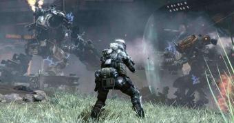 O Titanfall para Xbox 360 vai bem, obrigado!