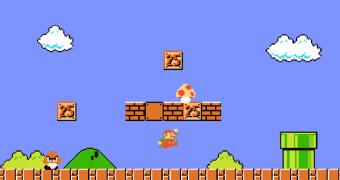Jogador termina o Super Mario Bros. com a menor pontuação possível