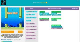 Flappy Bird é usado para ensinar crianças a programar