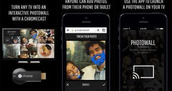 Google lança app Photowall para Chromecast