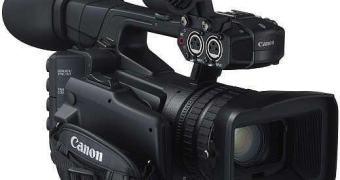 Para o pessoal do vídeo: Canon XF205 e XF200