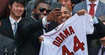 Selfie de David Ortiz e Obama patrocinada pela Samsung irrita a Casa Branca