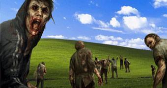 The Walking Dead: governo inglês paga para o Windows XP não morrer