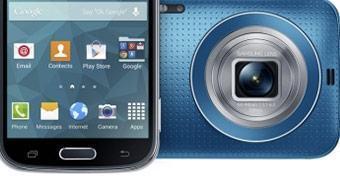 Samsung apresenta o Galaxy K Zoom, sua nova cameraphone