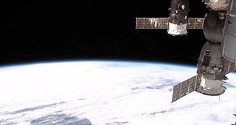 Nada demais, só a NASA transmitindo em HD do espaço