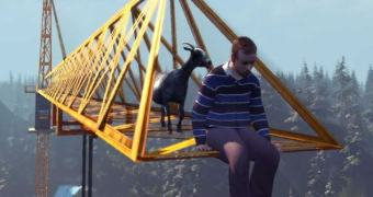 A mirabolante trama por trás do Goat Simulator