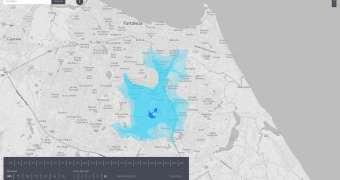 Isoscope — este mapa pode dizer o quão longe você pode ir em até 10 minutos
