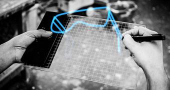 Gravity Sketch, um tablet que permite projetar em 3D