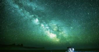 A Via Láctea em Time Lapse — direto do Cazaquistão