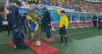 Globo e FIFA dão rasteira em paraplégico