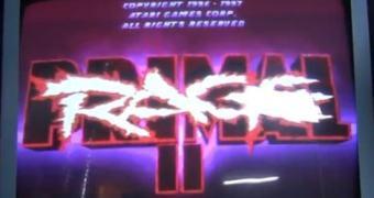 Máquina funcional de Primal Rage II está disponível para todos