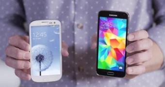 Samsung quer que você troque seu Galaxy S3 pelo S5