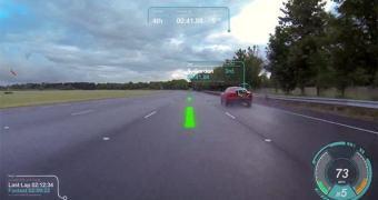 Jaguar está desenvolvendo para-brisas virtual