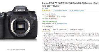Canon EOS 7D – Fim da linha?