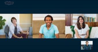 Skype: chamadas de vídeo em grupo breve para iOS e Android
