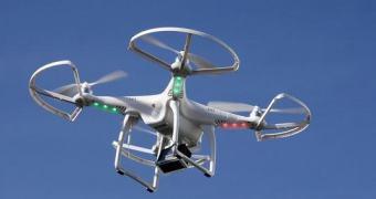 Drone cai em prisão enquanto levava maconha para os presos