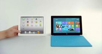 Surface Pro 3 é reduzido a suporte de iPad. Culpa da Microsoft