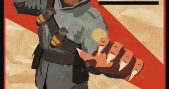 Documentário russo confunde pôster do Team Fortress 2 com propaganda da 1ª Guerra