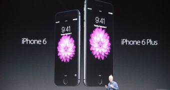 Evento Apple — iPhone 6 e aquele maior lá