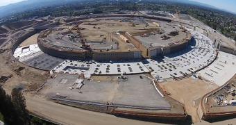 Apple: as fundações do enorme Campus 2 estão avançando