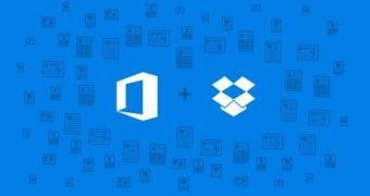 Parceria entre Dropbox e Microsoft trará integração com Office
