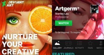 """Da série """"só agora?"""" DeviantArt lança app para iOS e Android"""