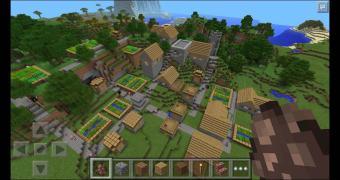 Habemus Minecraft no Windows Phone