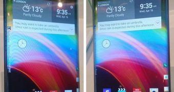 LG Display mostra tela com duas curvas nas laterais