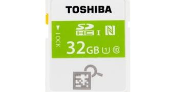 Toshiba lança primeiro cartão SD com conectividade NFC