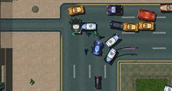Um drone e o Grand Theft Auto da vida real