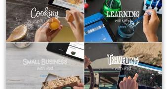 Campanha do iPad coloca o foco nos apps