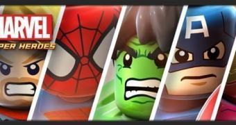 Warner revela Lego Marvel Super Heroes