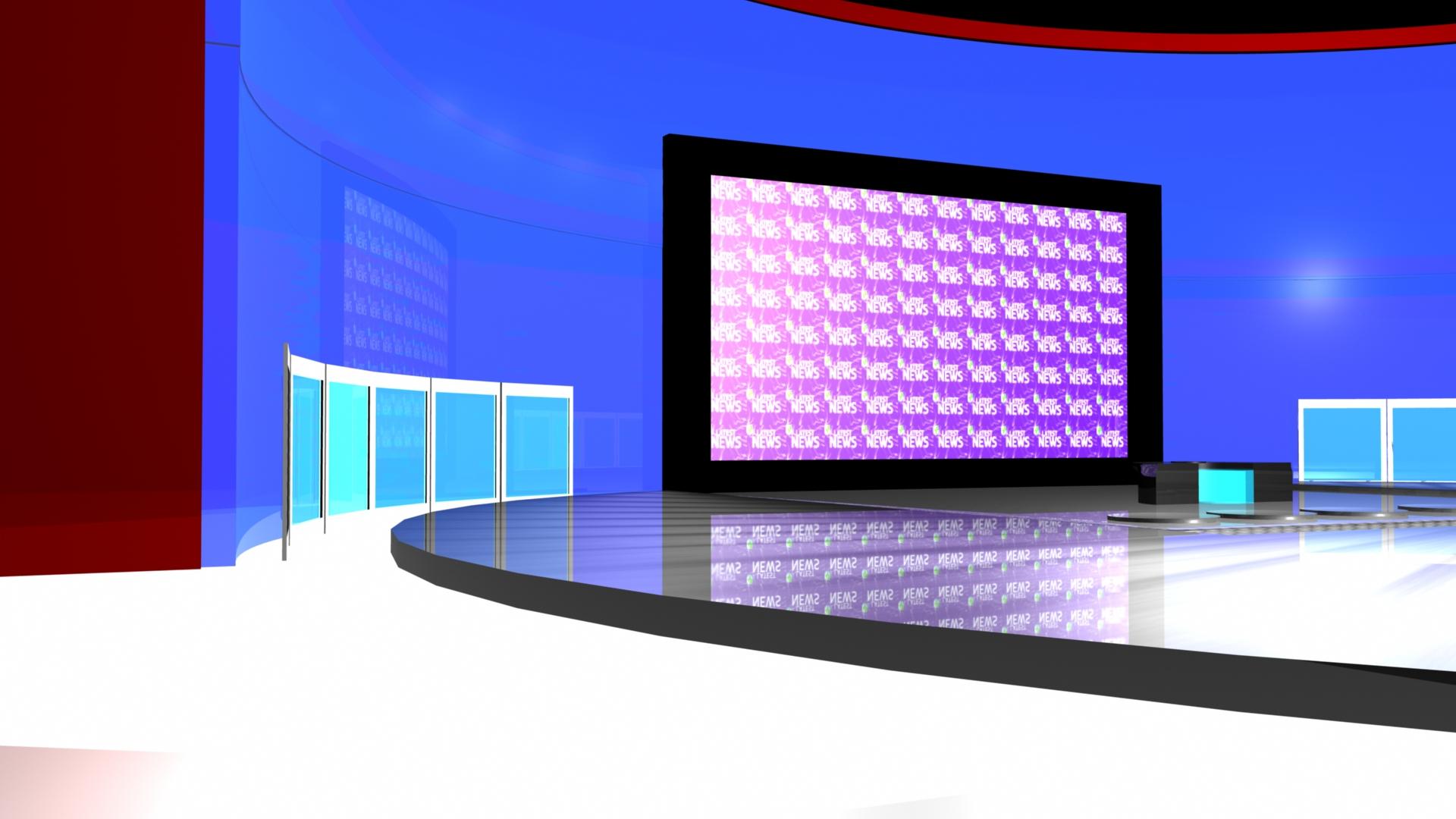 3d Shelf Wallpaper Virtual News Room Melad Tashtezar