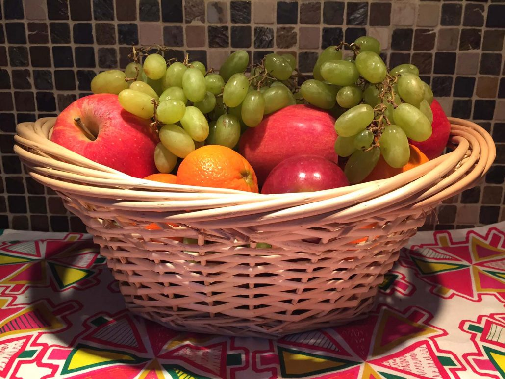 Fruit Baskets Easy Dyi Fruit Basket Homemade Gift Idea Melanie Cooks