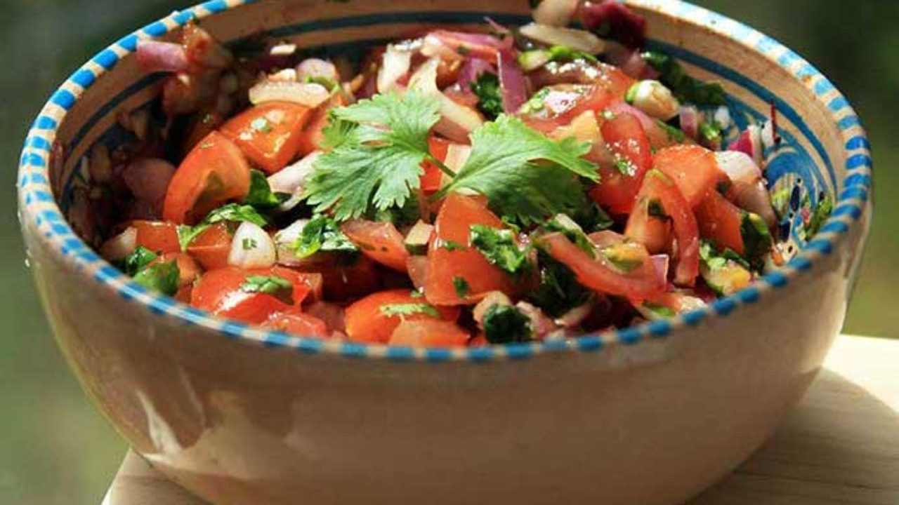 Cuisines With Spicy Food Spicy Indian Tomato Salad Recipe A Wonderful Side Dish To
