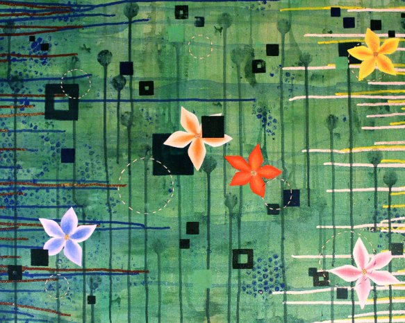 Mel Barrett Art Spring Breeze