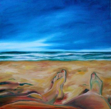 Mel Barrett Art Take Me Back To Paradise
