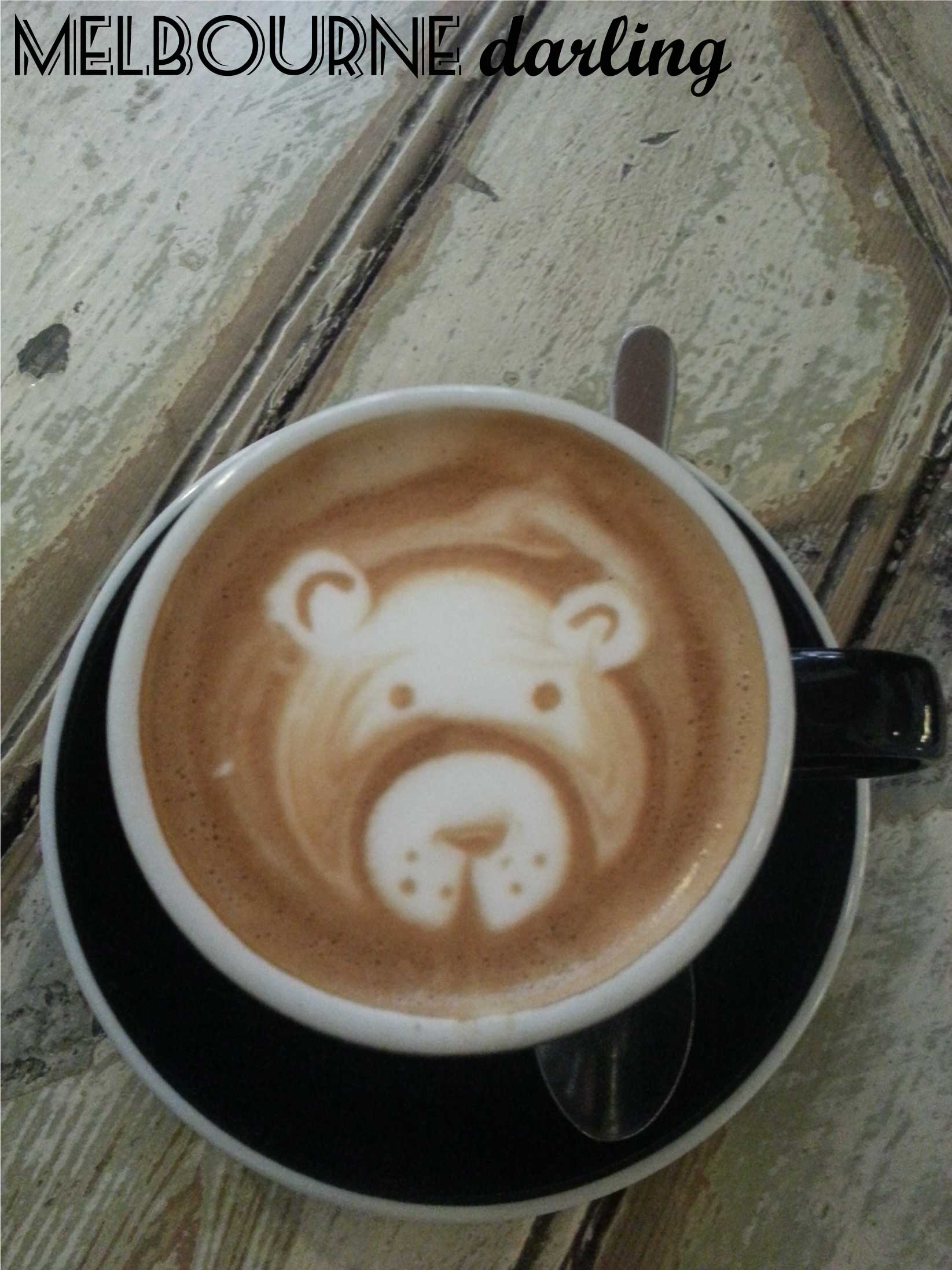 Coffee Art Bear Manchester Press Dining Review Melbourne Darling